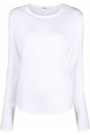 Filippa K Damen Longsleeves - Langarmshirt aus Jersey