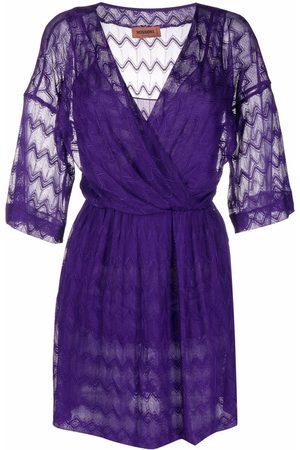 Missoni Kleid mit Stickerei