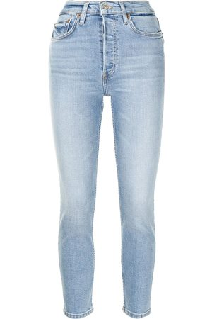 RE/DONE Damen High Waisted - Mid-rise skinny jeans