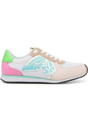 Sophia Webster Sneakers mit Schnürung - Mehrfarbig