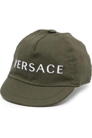 Versace Kids Baseballkappe mit Logo-Stickerei