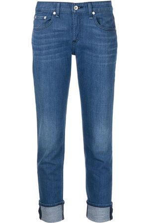 RAG&BONE Tief sitzende Skinny-Jeans