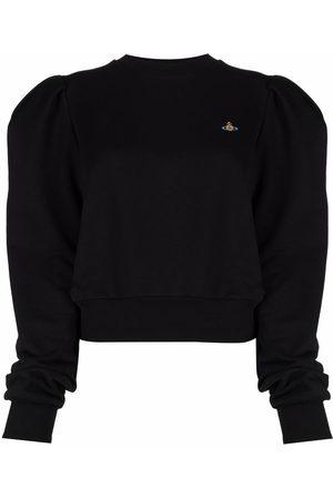 Vivienne Westwood Sweatshirt mit Logo-Stickerei