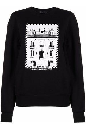 Karl Lagerfeld K/Maison Sweatshirt mit Logo-Print
