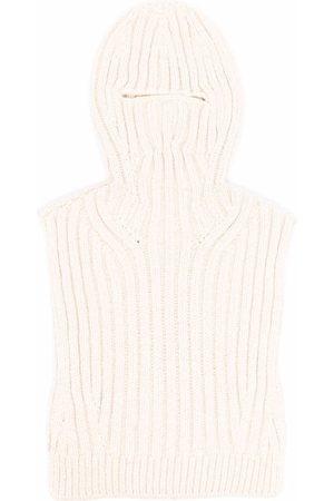 AMBUSH Chunky knit balaclava - Nude
