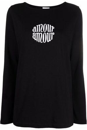 Patou Damen Shirts - T-Shirt mit Logo-Print