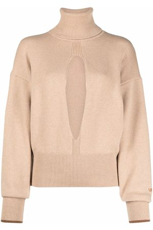 Victoria Beckham Pullover mit Cut-Outs - Nude