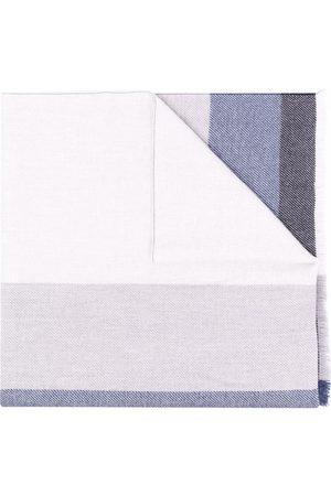 Brunello Cucinelli Schal in Colour-Block-Optik