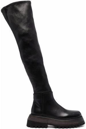 MARSÈLL Klassische Overknee-Stiefel