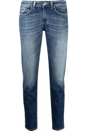 Dondup Halbhohe Cropped-Jeans