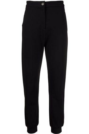 Pinko Cropped-Hose mit hohem Bund