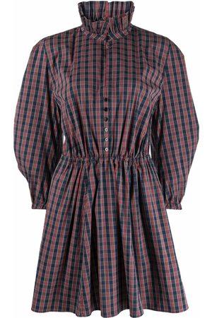 Serafini Kleid mit Puffärmeln