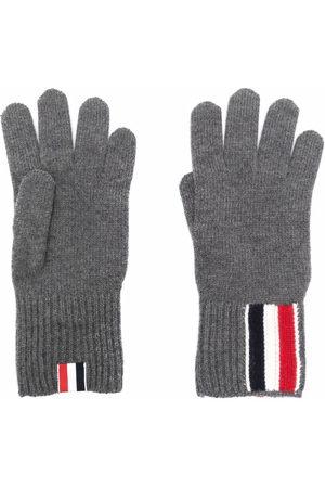 Thom Browne Handschuhe mit RWB-Streifen