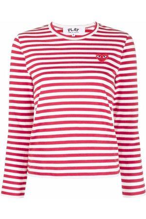 Comme des Garçons Damen Shirts - Oberteil mit Streifen