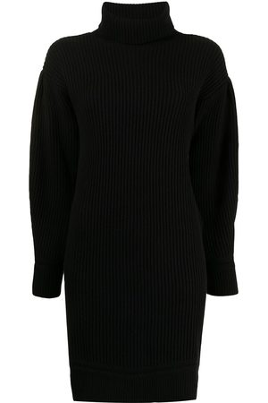 Armani Roll-neck knitted dress