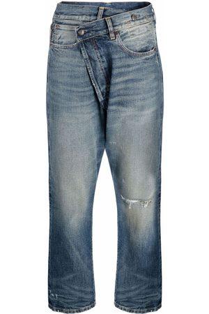 R13 Asymmetrische Jeans