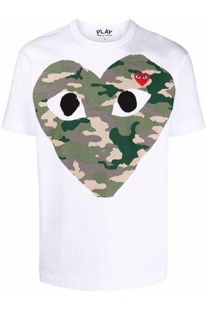 Comme des Garçons T-Shirt mit Herz-Print