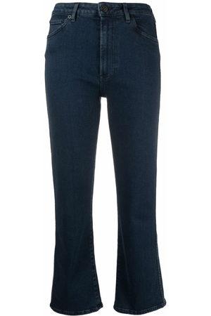 3x1 Damen Bootcut - Schlagjeans mit hohem Bund