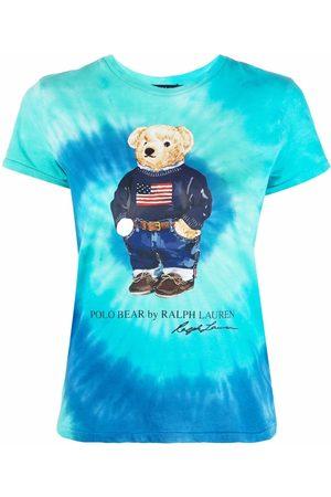 Polo Ralph Lauren T-Shirt mit Batikmuster