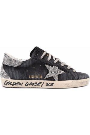 Golden Goose Glitter-embellished Super-Star sneakers