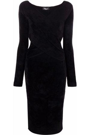 BLUMARINE Kleid mit V-Ausschnitt