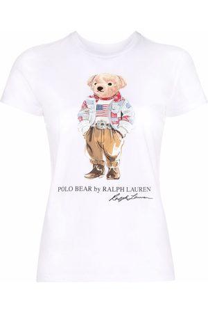 Polo Ralph Lauren T-Shirt mit Teddy-Print