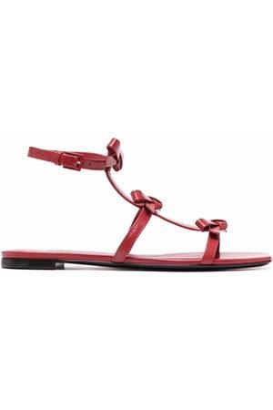 VALENTINO GARAVANI Bow-detail flat sandals