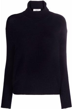 VALENTINO Damen Strickpullover - Cashmere roll-neck jumper