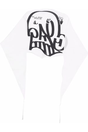 OFF-WHITE Schal mit Graffiti-Print