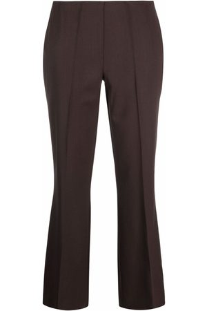 P.a.r.o.s.h. Mid-rise flared trousers