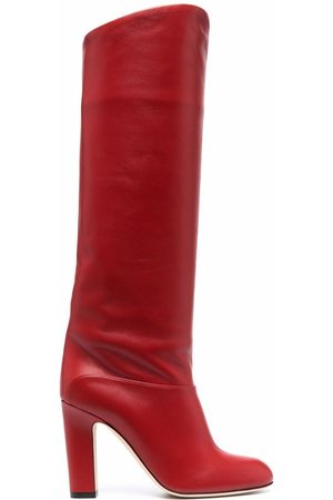 PARIS TEXAS Knee-length leather boots