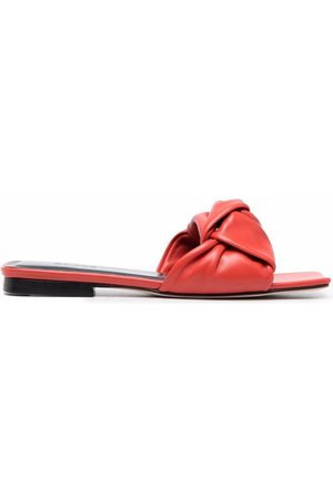 By Far Leather-knot sandals