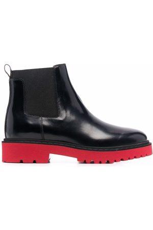 Hogan Chelsea contrast-sole boots