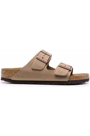 Birkenstock Arizona Oiled leather sandals - Nude