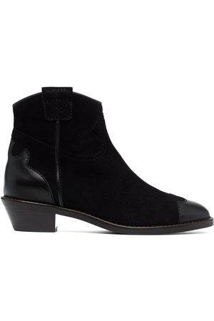 See by Chloé Effie suede western boots