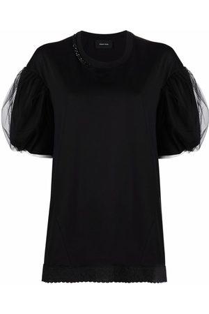 Simone Rocha Puffball-sleeve T-shirt