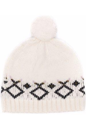 BONPOINT Mütze mit Bommel
