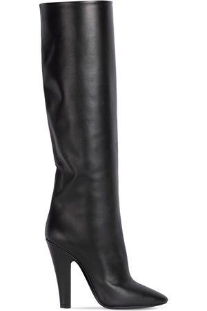 """SAINT LAURENT Damen Stiefel - 9mm Hohe Stiefel Aus Leder """"68"""""""