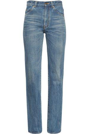 "SAINT LAURENT Jeans Mit Hoher Taille ""90s"""
