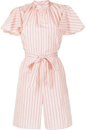 Erdem Damen Jumpsuits - Amalfi striped cotton playsuit