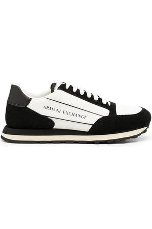 Armani Exchange Side logo-print sneakers