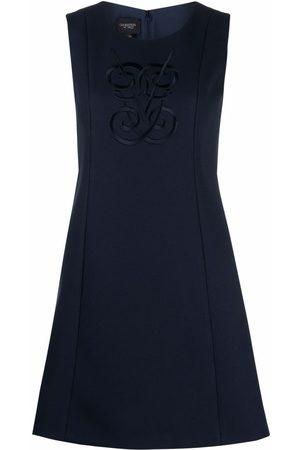 Giambattista Valli Damen Freizeitkleider - Embroidered-logo sleeveless mini dress