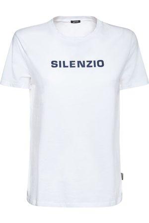 Aspesi Bedrucktes T-shirt Aus Baumwolljersey