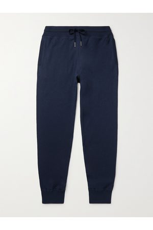 Tom Ford Slim-Fit Tapered Cotton, Silk and Cashmere-Blend Sweatpants