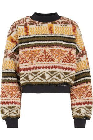 Etro Sweatshirt aus Shearling-Imitat