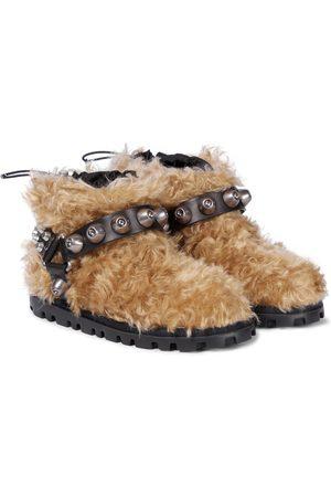 Miu Miu Verzierte Ankle Boots