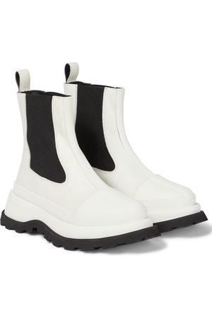 Jil Sander Chelsea Boots aus Leder
