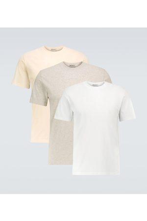 Maison Margiela T-Shirt mit Rundhalsausschnitt aus Baumwolle im Dreierpack