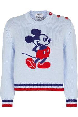 Miu Miu X Disney® Wollpullover mit Intarsien