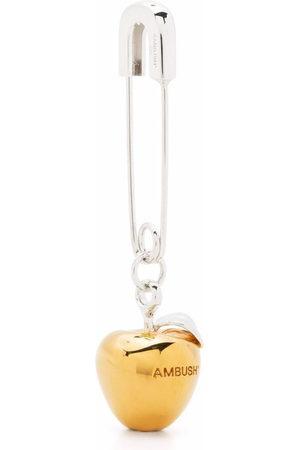 AMBUSH Ohrringe - APPLE CHARM EARRING GOLD NO COLOR